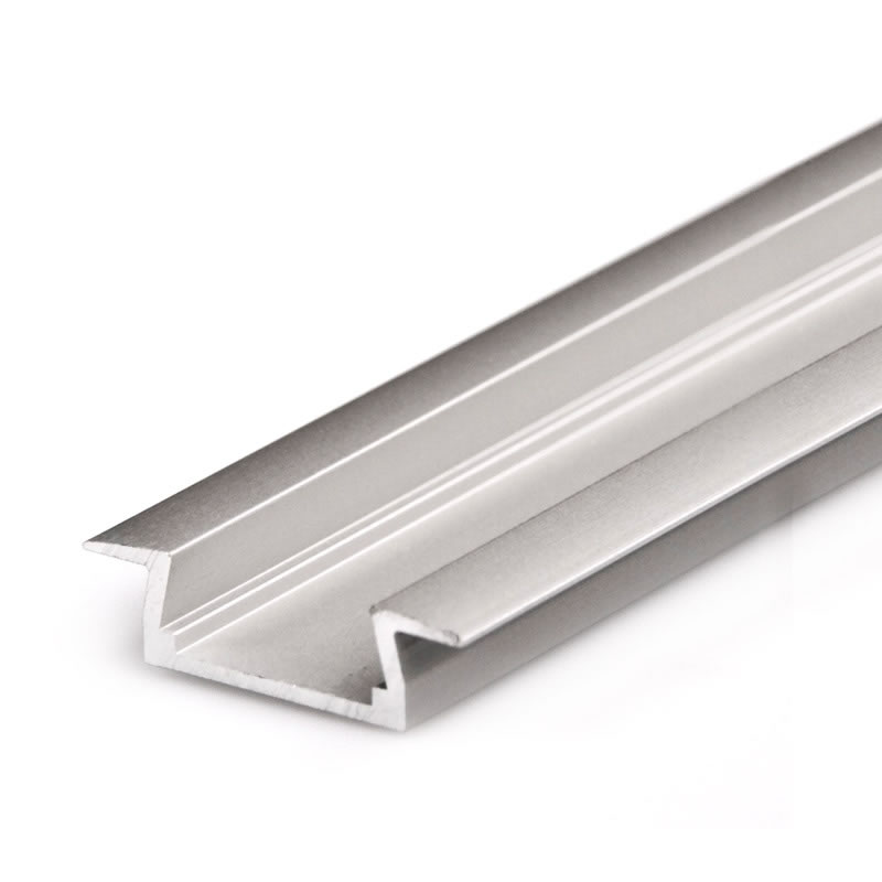 Perfil aluminio kobe para tiras led 2 metros perfiles for Perfiles de aluminio catalogo